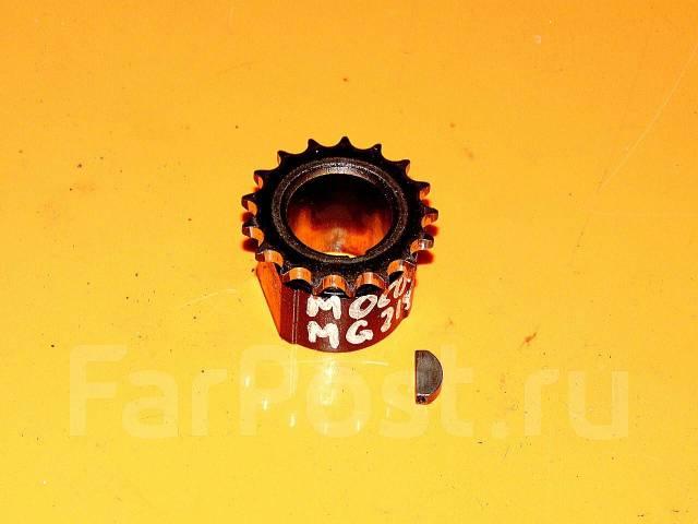 Шестерня коленвала. Nissan Moco, MG21S Двигатель K6A