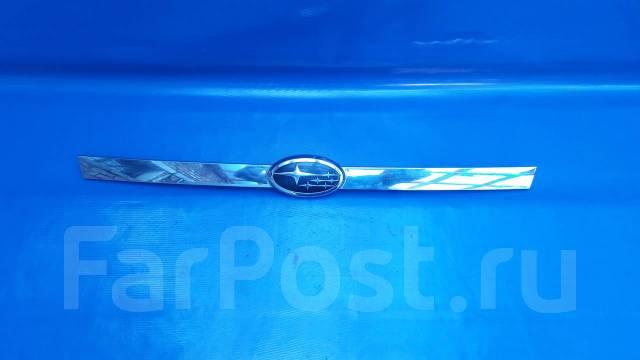 Накладка на дверь багажника. Subaru Legacy, BP5, BP9, BPE, BPH Двигатели: EJ203, EJ204, EJ20X, EJ20Y, EJ253, EJ255, EJ30D