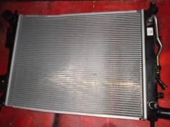 Радиатор охлаждения двигателя. Hyundai Solaris, UB Hyundai i20, UB Kia Rio, UB