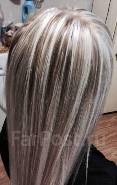 Мелирование окрашивание колорирование волос