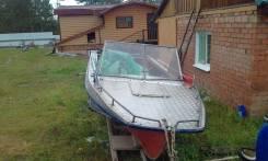 Казанка-5. 2012 год год, длина 4,50м., двигатель подвесной, 40,00л.с., бензин