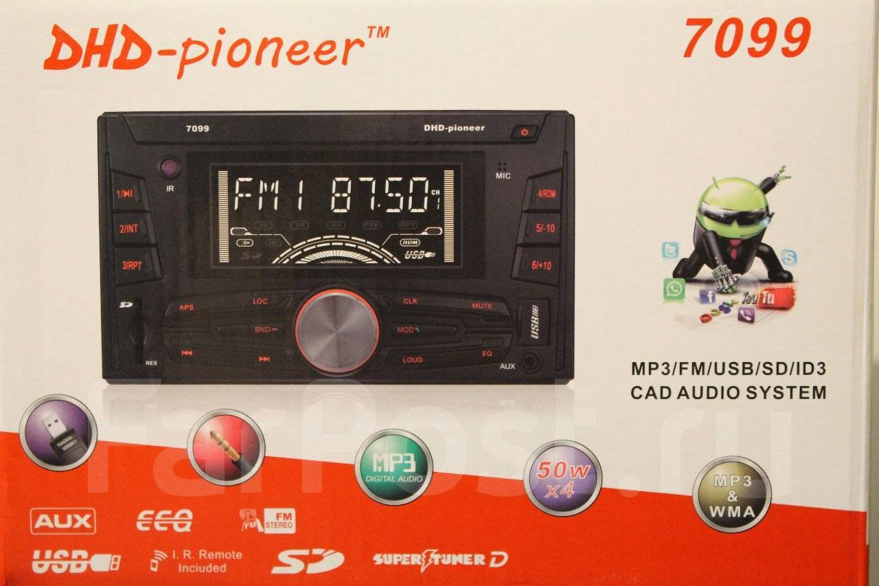 Инструкция для автомагнитолы pioneer avh p7650dvd