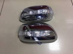 Накладка на зеркало. Toyota Corolla Fielder, ZZE122G, ZZE124G, NZE121G, ZZE123G, NZE124G Двигатели: 1ZZFE, 1NZFE, 2ZZGE