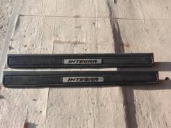 Накладка на порог. Honda Integra, DC5