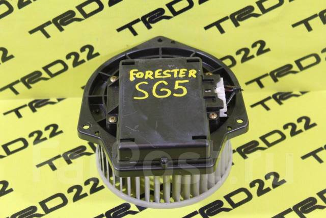 Мотор печки. Subaru Forester, SG5, SG9 Двигатели: EJ205, EJ255, EJ203, EJ202