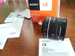 Объектив SONY SAL50F18. Для Sony a, диаметр фильтра 49 мм