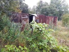 Продам участок с 3 контейнерами. 900 кв.м., собственность, от частного лица (собственник)