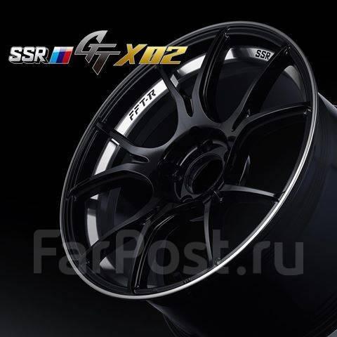 "SSR GTX02. 8.5/9.5x19"", 5x120.00, ET38/45, ЦО 73,0мм. Под заказ"