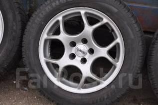 Колеса 5x100 205/55R15 88H Dezent Toyota VW Skoda Subaru Seat. 7.0x15 5x100.00 ET35 ЦО 67,1мм.