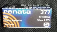 Батарейки для часов Renata в ассортименте