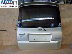 Дверь багажника. Toyota Yaris Verso, NCP21, NCP20 Toyota Funcargo, NCP21, NCP20, NCP25
