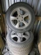 Комплект дисков с резиной R16 вылет 35 для Мерса, Ауди, Фольксваген. 7.5x16 5x112.00 ET35