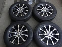 Готовый комплект на Honda CR-V 225/65R17 + work R17 6,5j +50 5/114,3. 6.5x17 5x114.30 ET50 ЦО 73,3мм.
