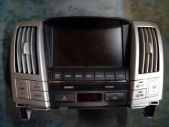 Дисплей. Lexus RX400h, MHU38 Двигатель 3MZFE