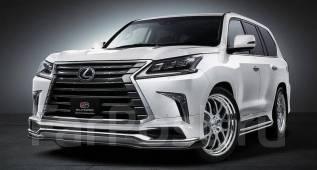 Обвес кузова аэродинамический. Lexus LX450d, URJ200 Lexus LX570, URJ201, URJ201W Двигатели: 1VDFTV, 3URFE. Под заказ