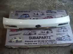 Накладка на дверь багажника. Subaru Legacy, BP9, BPE, BP5 Двигатели: EJ30D, EJ20X, EJ20Y, EJ253, EJ204
