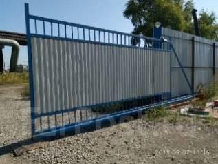 Изготовление и монтаж металлических ворот