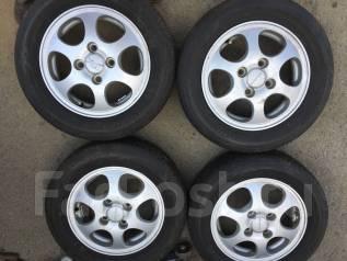 Комплект шины+литьё на 13 4-100. Honda. 4x100.00 ET40 ЦО 55,0мм.