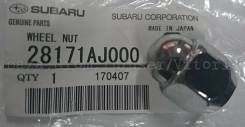 Гайка на колесо. Subaru: Vivio, Justy, Exiga, Leone, Rex, BRZ, Legacy, Impreza, Forester, Domingo, Sambar, XV Двигатели: EN07Y, EF10, EJ253, EJ25A, EJ...