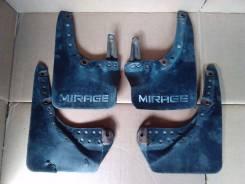 Брызговики. Mitsubishi Lancer, C61A, C72A, C73A, C62A, C63A, C74A, C64A Mitsubishi Mirage, C53A, C64A, C51A, C74A, C62A, C63A, C73A, C52A, C83A, C72A...