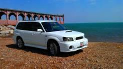 Накладка на бампер. Subaru Forester, SG5, SG9, SG9L