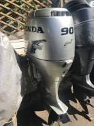Honda. 90,00л.с., 4-тактный, бензиновый, нога L (508 мм), Год: 2005 год