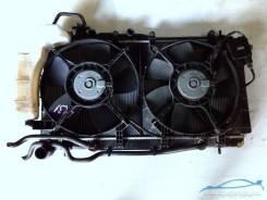 Радиатор охлаждения двигателя. Subaru Legacy, BPE Двигатель EZ30