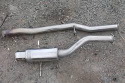 Глушитель. Subaru Impreza WRX STI, GDB Двигатель EJ207