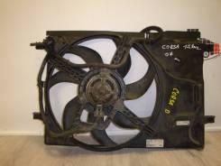 Вентилятор охлаждения радиатора. Opel Corsa, D Fiat Punto