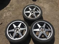 3 летних колёса 215/40R17. 7.0x17 5x100.00 ET47