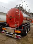 Foxtank ППЦ-30. Полуприцеп-цистерна для химических продуктов Fox Tank (Химия), 1 000 куб. см., 30,00куб. м.
