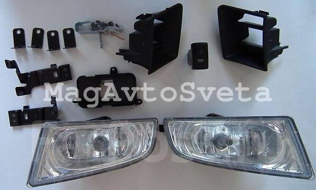 Фара противотуманная. Honda Civic Hybrid Honda Civic Двигатели: LDA2, R16A1, R16A2, R18A1, R18A2