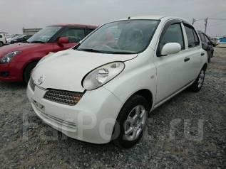 Nissan March. автомат, передний, 1.2 (90 л.с.), бензин, 60 тыс. км, б/п, нет птс. Под заказ