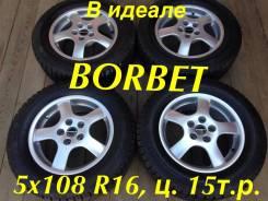 Borbet. 7.0x16, 5x108.00, ET40