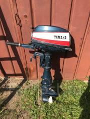 Yamaha. 6,00л.с., 2-тактный, бензиновый, нога X (635 мм)