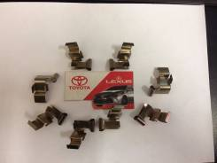 Пружина тормозного суппорта. Toyota: Dyna, Regius, Regius Ace, Hiace, Toyoace, Grand Hiace, Granvia Двигатели: 1TRFE, 2KDFTV, 1TRFPE, 3RZFPE, 3L, 5L...