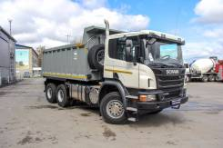 Scania. Самосвал P400 CB6x4EHZ, 13 000 куб. см., 25 000 кг.