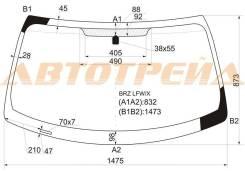 Стекло лобовое в клей TOYOTA GT 86/SUBARU BRZ/SCION FR-S 2D COUPE 2013-