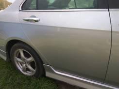 Накладка на порог. Honda Accord, CL7