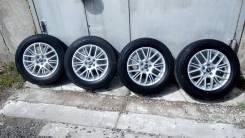 """Комплект колёс MADE IN Japan. Стильные Enkei DC + Жирная зима Dunlop. 7.0x16"""" 5x100.00"""