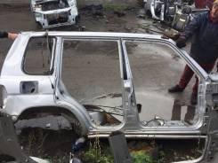 Накладка на порог. Mitsubishi Pajero iO, H77W