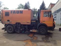 Faun. Вакуумно-уборочная машина FAUN VEGA AK460 на шасси МАЗ 5337