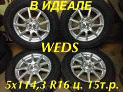 Weds. 6.5x16, 5x114.30, ET38
