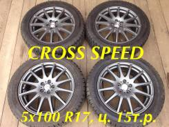 Hot Stuff Cross Speed. 7.0x17, 5x100.00, ET50