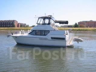Аренда катера 36 футов, для отдыха и рыбалки. 12 человек, 35км/ч