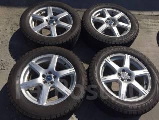 225/55 R17 Bridgestone Blizzak VRX литые диски 5х100 (К9-1708). 7.0x17 5x100.00 ET53