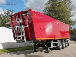 MEGA. Новые полуприцепы 50 куб. м алюминиевый кузов, 32 640кг. Под заказ