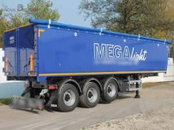 MEGA. Новые самосвальные полуприцепы 42 куб. м, 33 950кг. Под заказ