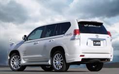 Клык бампера. Toyota Land Cruiser Prado, GRJ151, GRJ150L, GRJ151W, GRJ150, GRJ150W, GDJ151W, TRJ150W, KDJ150L, GDJ150W, TRJ150, GDJ150L