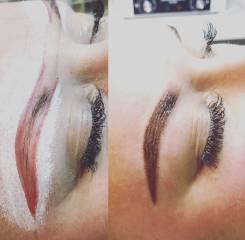 Перманентный макияж бровей, пудровые брови, брови6d
